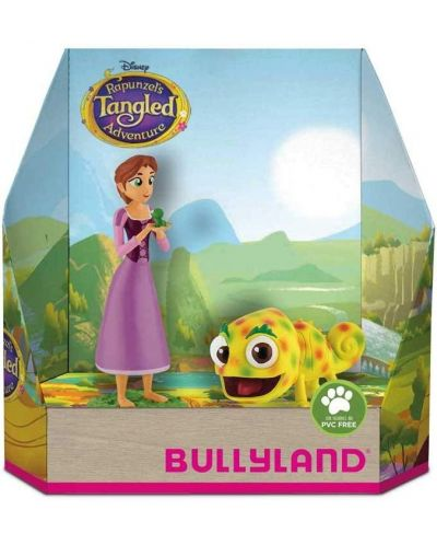 Set figurine Bullyland Tangled The Series - Rapunzel si Pascal - 1