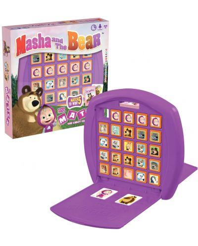 Joc cu carti si cuburi Top Trumps Match - Masa și ursul - 1