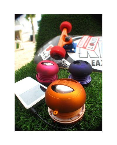 Mini boxa X-mini II - portocalie - 5