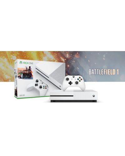 Xbox One S 500GB + Battlefield 1 - 11