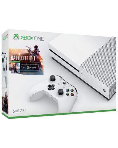 Xbox One S 500GB + Battlefield 1 - 1