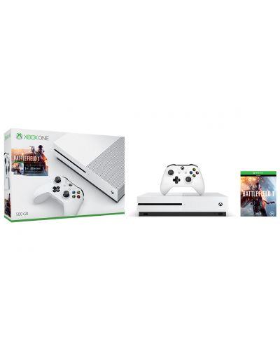 Xbox One S 500GB + Battlefield 1 - 5