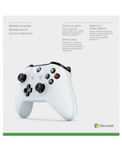 Controller Microsoft - Xbox One Wireless Controller - White - 7