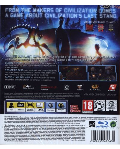 XCOM: Enemy Unknown + Elite Soldier Pack (PS3) - 3