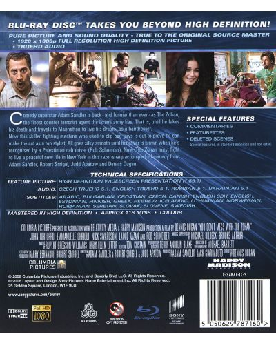 You Don't Mess with the Zohan (Blu-ray) - 2