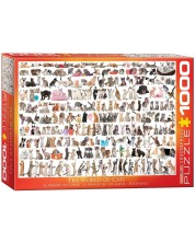Puzzle Eurographics de 1000 piese – Lumea pisicilor