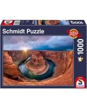 Puzzle Schmidt de 1000 piese - Glen Canyon, Horseshoe Bend on the Colorado River