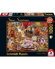 Puzzle Schmidt de 1000 piese - Steve Sundram Music Mania