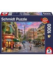 Puzzle Schmidt отde 1000 piese - Street To The Eiffel Tower