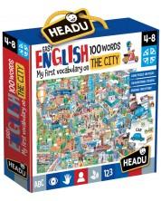Set educativ Headu - Oras, primele 100 de cuvinte in limba engleza -1