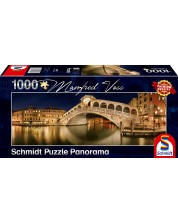Puzzle panoramic  Schmidt de 1000 piese - Manfred Voss Rialto Bridge