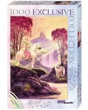Puzzle stralucitor Step Puzzle de 1000 piese - Valea magica