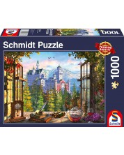 Puzzle Schmidt de 1000 piese - View Of The Fairytale Castle