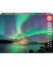 Puzzle Educa 1000 de piese - Aurora boreala