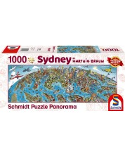 Puzzle panoramic Schmidt de 1000 piese - Hartwig Braun Sydney