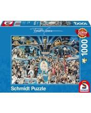 Puzzle Schmidt de 1000 piese - Renato Casaro Hollywood