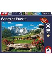 Puzzle Schmidt de 1000 piese - Mountain Paradise