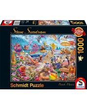 Puzzle Schmidt de 1000 piese - Steve Sundram Beach Mania