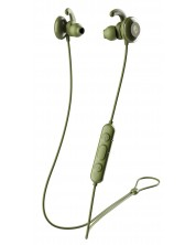 Casti sport Skullcandy - Method Active Wireless, moss/olive/yellow