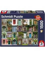 Puzzle Schmidt de 1500 piese - Doors