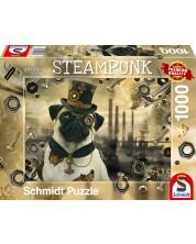 Puzzle Schmidt de 1000 piese- Markus Binz Steampunk Dog
