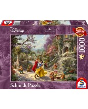 Puzzle Schmidt de 1000 piese - Thomas Kinkade Snow White Dancing in the Sunlight