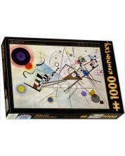 Puzzle D-Toys de 1000 piese - Compozitiea 8, Vasili Kandinski