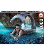 Puzzle Educa 1000 de piese - Mermaid, Anne Stokes
