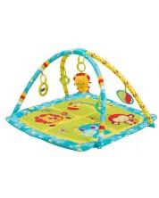 Salteluta pentru gimnastica bebelusilor Babyono - Safari -1