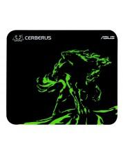 Mousepad gaming Asus - Cerberus Mat Mini, negru/verde