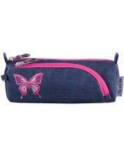 Penar scolar dreptunghiular Pulse Music - Jeans Butterfly