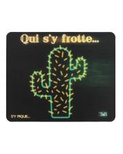 Mouse pad  TNB - Cactus, negru