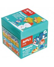Puzzle educativ APLI de 24 piese - Anotimpuri