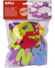 Litere colorate moi APLI – 104 bucati -1
