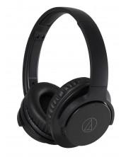 Casti cu microfon Audio-Technica - ATH-ANC500BT, wireless, negre