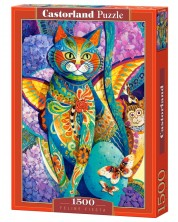 Puzzle Castorland de 1500 piese - Bucuria pisicii