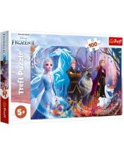 Puzzle Trefl de 100 piese - Magia in Regatul de gheata 2