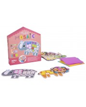 Joc pentru copii APLI - Primul meu mozaic cu 5 animale salbatice -1