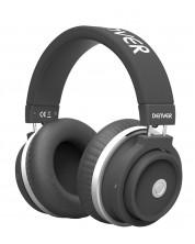Casti wireless Denver - BTH-250, negre