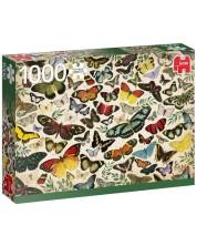 Puzzle Jumbo de 1000 piese - Poster fluturi