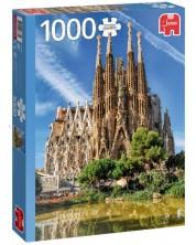 Puzzle Jumbo de 1000 piese - Sagrada Familia, Barcelona