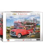 Puzzle Eurographics de 1000 piese - Chevrolet Apache, Greg Giordano