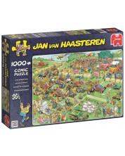 Puzzle Jumbo de 1000 piese - Concurs cu cositoare, Jan van Haasteren