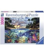 Puzzle Ravensburger de 1000 piese - Golf coral