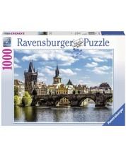 Puzzle Ravensburger de 1000 piese - Podul Carol
