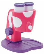 Microscop pentru copii Learning Resources - Geosafari, roz-lila