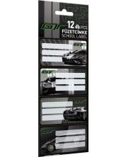 Etichete scolare Lizzy Card - Ford GT, 12 bucati -1