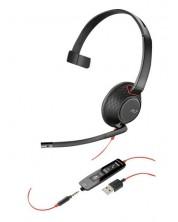 Casca Plantronics Blackwire - C5210, neagra