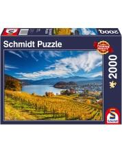 Puzzle Schmidt de 2000 piese - Vineyards