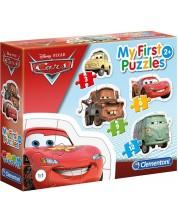 Puzzle bebe Clementoni 4 in 1 - Masini 3